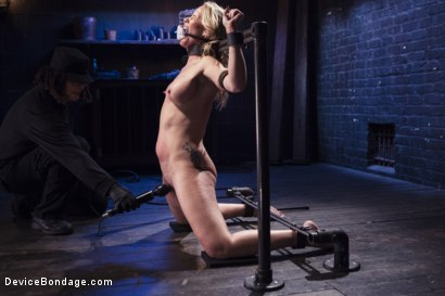 Photo number 6 from MILF gets tormented and machine fucked shot for Device Bondage on Kink.com. Featuring Orlando and Simone Sonay in hardcore BDSM & Fetish porn.