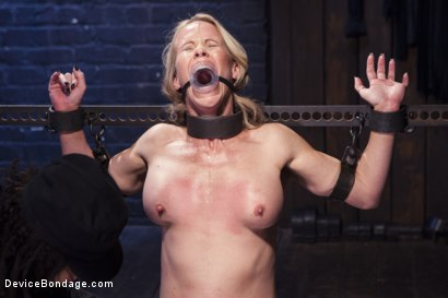 Photo number 7 from MILF gets tormented and machine fucked shot for Device Bondage on Kink.com. Featuring Orlando and Simone Sonay in hardcore BDSM & Fetish porn.