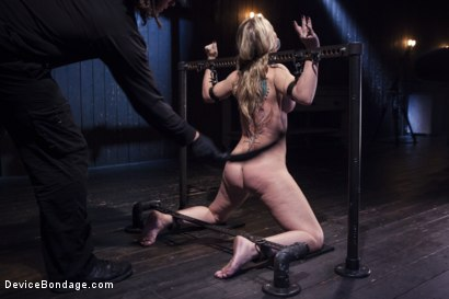 Photo number 8 from MILF gets tormented and machine fucked shot for Device Bondage on Kink.com. Featuring Orlando and Simone Sonay in hardcore BDSM & Fetish porn.