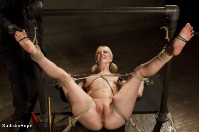 Photo number 12 from Methodical Madness!! shot for Sadistic Rope on Kink.com. Featuring Cherry Torn in hardcore BDSM & Fetish porn.