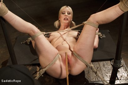 Photo number 3 from Methodical Madness!! shot for Sadistic Rope on Kink.com. Featuring Cherry Torn in hardcore BDSM & Fetish porn.