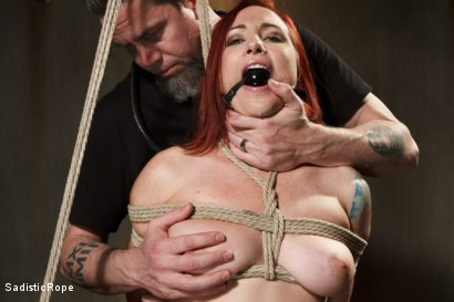 Photo number 13 from WARNING!! BRUTAL TORMENT, WATER BOARDING AND EXTREME BONDAGE!!! shot for Sadistic Rope on Kink.com. Featuring Sophia Locke in hardcore BDSM & Fetish porn.