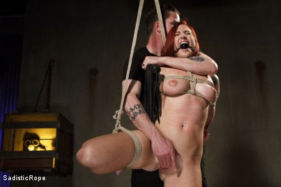 Photo number 1 from WARNING!! BRUTAL TORMENT, WATER BOARDING AND EXTREME BONDAGE!!! shot for Sadistic Rope on Kink.com. Featuring Sophia Locke in hardcore BDSM & Fetish porn.