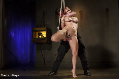 Photo number 2 from WARNING!! BRUTAL TORMENT, WATER BOARDING AND EXTREME BONDAGE!!! shot for Sadistic Rope on Kink.com. Featuring Sophia Locke in hardcore BDSM & Fetish porn.