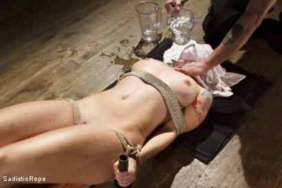 Photo number 6 from WARNING!! BRUTAL TORMENT, WATER BOARDING AND EXTREME BONDAGE!!! shot for Sadistic Rope on Kink.com. Featuring Sophia Locke in hardcore BDSM & Fetish porn.