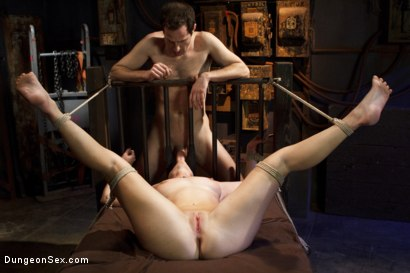 Photo number 12 from Fucking the Pain Slut shot for Dungeon Sex on Kink.com. Featuring Sophia Locke and Maestro in hardcore BDSM & Fetish porn.