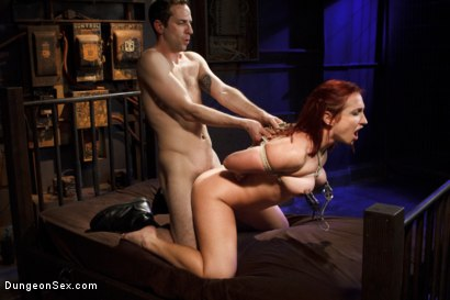 Photo number 13 from Fucking the Pain Slut shot for Dungeon Sex on Kink.com. Featuring Sophia Locke and Maestro in hardcore BDSM & Fetish porn.