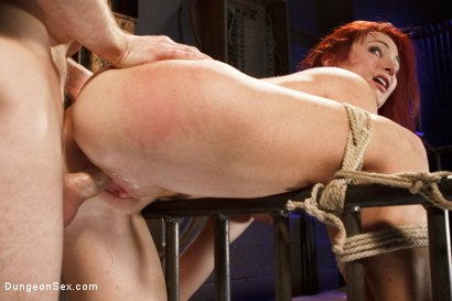 Photo number 6 from Fucking the Pain Slut shot for Dungeon Sex on Kink.com. Featuring Sophia Locke and Maestro in hardcore BDSM & Fetish porn.