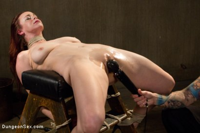Photo number 5 from HOT AND TIED: Busty Bella Rossi is Bound and Fucked shot for Dungeon Sex on Kink.com. Featuring Bella Rossi and Christian Wilde in hardcore BDSM & Fetish porn.