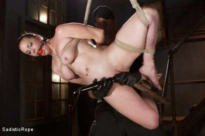 Photo number 9 from Beating Bella shot for Sadistic Rope on Kink.com. Featuring Bella Rossi in hardcore BDSM & Fetish porn.