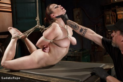 Photo number 10 from Beating Bella shot for Sadistic Rope on Kink.com. Featuring Bella Rossi in hardcore BDSM & Fetish porn.