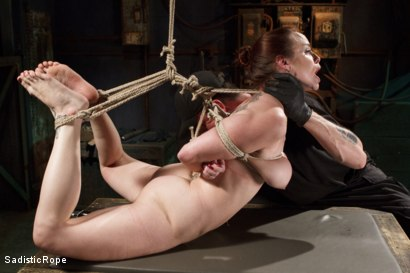 Photo number 13 from Beating Bella shot for Sadistic Rope on Kink.com. Featuring Bella Rossi in hardcore BDSM & Fetish porn.