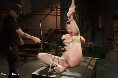 Photo number 3 from Beating Bella shot for Sadistic Rope on Kink.com. Featuring Bella Rossi in hardcore BDSM & Fetish porn.