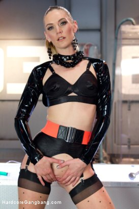 Photo number 2 from Sci-Fi Fantasy: Scientist Babe Engineers Men To Fuck Her Into Oblivion shot for Hardcore Gangbang on Kink.com. Featuring Mona Wales, Mickey Mod, Gage Sin, Astral Dust, John Strong and Karlo Karrera in hardcore BDSM & Fetish porn.