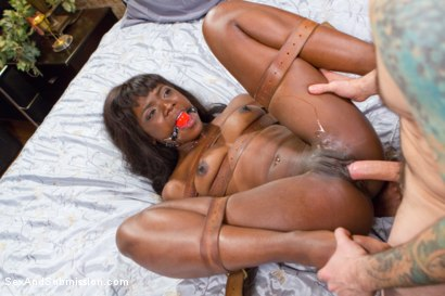 Photo number 13 from Yes Master - Ebony Boss Slut Gets the Tables Turned  shot for Sex And Submission on Kink.com. Featuring Tommy Pistol and Ana Foxxx in hardcore BDSM & Fetish porn.