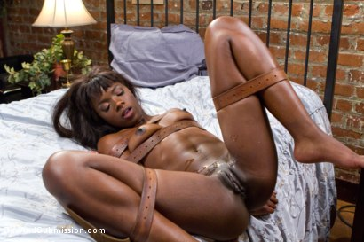 Photo number 16 from Yes Master - Ebony Boss Slut Gets the Tables Turned  shot for Sex And Submission on Kink.com. Featuring Tommy Pistol and Ana Foxxx in hardcore BDSM & Fetish porn.