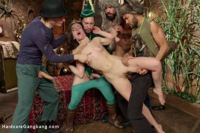 Dreams Do Cum True! Peter Pan & the Lost Boys Gang-bang Parody!!