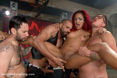 Photo number 14 from Is It Worth Your Soul?? Sexy Succubus hell bent on gang-bang to top them all!! shot for Hardcore Gangbang on Kink.com. Featuring Daisy Ducati, Owen Gray, Karlo Karrera, Tommy Pistol, Bill Bailey and Bradley Remington in hardcore BDSM & Fetish porn.