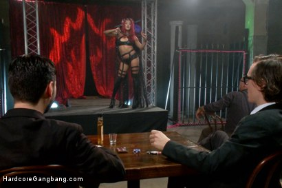 Photo number 7 from Is It Worth Your Soul?? Sexy Succubus hell bent on gang-bang to top them all!! shot for Hardcore Gangbang on Kink.com. Featuring Daisy Ducati, Owen Gray, Karlo Karrera, Tommy Pistol, Bill Bailey and Bradley Remington in hardcore BDSM & Fetish porn.