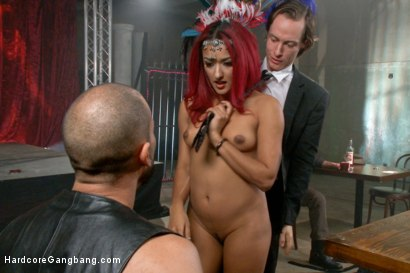 Photo number 11 from Is It Worth Your Soul?? Sexy Succubus hell bent on gang-bang to top them all!! shot for Hardcore Gangbang on Kink.com. Featuring Daisy Ducati, Owen Gray, Karlo Karrera, Tommy Pistol, Bill Bailey and Bradley Remington in hardcore BDSM & Fetish porn.