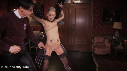 Photo number 19 from Impact Play: Spanking & Implements shot for Kink University on Kink.com. Featuring Cadence Cross in hardcore BDSM & Fetish porn.