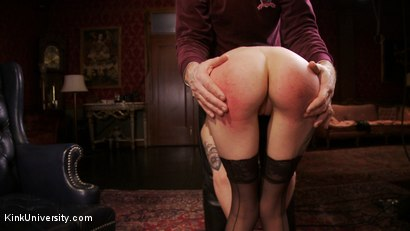 Photo number 8 from Impact Play: Spanking & Implements shot for Kink University on Kink.com. Featuring Cadence Cross in hardcore BDSM & Fetish porn.