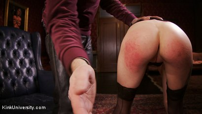 Photo number 6 from Impact Play: Spanking & Implements shot for Kink University on Kink.com. Featuring Cadence Cross in hardcore BDSM & Fetish porn.