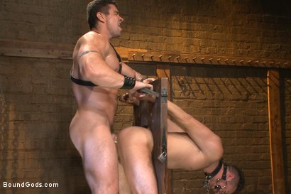 Photo number 11 from Leon Fox a new sub endures the brutal hands for Mr Ducati shot for Bound Gods on Kink.com. Featuring Trenton Ducati and Leon Fox in hardcore BDSM & Fetish porn.
