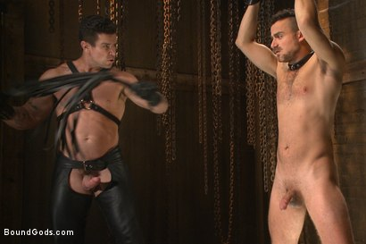 Photo number 7 from Leon Fox a new sub endures the brutal hands for Mr Ducati shot for Bound Gods on Kink.com. Featuring Trenton Ducati and Leon Fox in hardcore BDSM & Fetish porn.