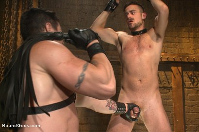 Photo number 8 from Leon Fox a new sub endures the brutal hands for Mr Ducati shot for Bound Gods on Kink.com. Featuring Trenton Ducati and Leon Fox in hardcore BDSM & Fetish porn.
