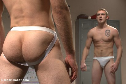 Photo number 6 from Top Cock: Sports Gear Smackdown Series - Wrestler vs Baseball Player shot for Naked Kombat on Kink.com. Featuring Zane Anders and Jonah Marx in hardcore BDSM & Fetish porn.