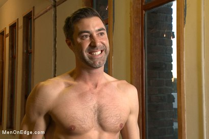 Photo number 15 from Prolonged Edging = Giant Loads of Cum shot for Men On Edge on Kink.com. Featuring Justin Beal in hardcore BDSM & Fetish porn.