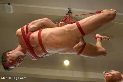 Photo number 10 from Prolonged Edging = Giant Loads of Cum shot for Men On Edge on Kink.com. Featuring Justin Beal in hardcore BDSM & Fetish porn.