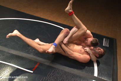 Photo number 7 from Top Cock: Justin Beal vs Owen Michaels  shot for Naked Kombat on Kink.com. Featuring Justin Beal and Owen Michaels in hardcore BDSM & Fetish porn.