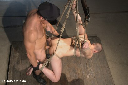 Photo number 8 from Officer Maguire uses and abuses a new punk shot for Bound Gods on Kink.com. Featuring Brendon Scott and Connor Maguire in hardcore BDSM & Fetish porn.