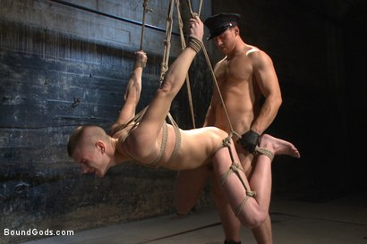 Photo number 10 from Officer Maguire uses and abuses a new punk shot for Bound Gods on Kink.com. Featuring Brendon Scott and Connor Maguire in hardcore BDSM & Fetish porn.