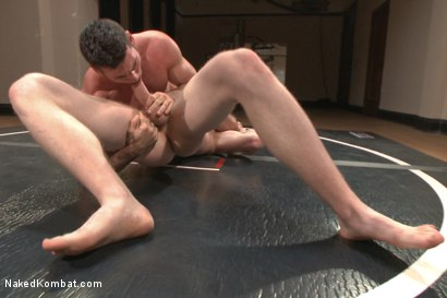 Photo number 5 from Top Cock - Sportsgear Smackdown Series: Two Rivals Fight and Fuck shot for Naked Kombat on Kink.com. Featuring Billy Santoro and Cass Bolton in hardcore BDSM & Fetish porn.