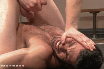 Photo number 13 from Top Cock - Sportsgear Smackdown Series: Two Rivals Fight and Fuck shot for Naked Kombat on Kink.com. Featuring Billy Santoro and Cass Bolton in hardcore BDSM & Fetish porn.