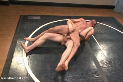 Photo number 4 from Top Cock - Sportsgear Smackdown Series: Two Rivals Fight and Fuck shot for Naked Kombat on Kink.com. Featuring Billy Santoro and Cass Bolton in hardcore BDSM & Fetish porn.