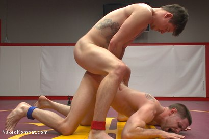Photo number 12 from Top Cock: Face Smothering, Foot Worship & Sexual Domination!  shot for Naked Kombat on Kink.com. Featuring Jay Rising and Jed Athens in hardcore BDSM & Fetish porn.