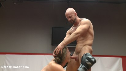 Photo number 6 from Top Cock - Sportsgear Smackdown: Rugby Player vs. Boxer Fight to Fuck shot for Naked Kombat on Kink.com. Featuring Mitch Vaughn and Kip Johnson in hardcore BDSM & Fetish porn.