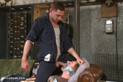 Photo number 3 from The Creepy Handyman Series - The battle of the giant cocks shot for Bound Gods on Kink.com. Featuring Jay Rising and Doug Acre in hardcore BDSM & Fetish porn.