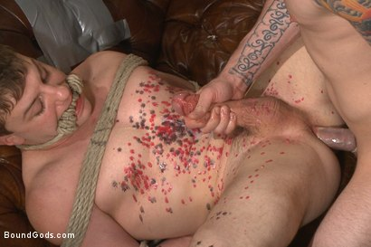 Photo number 13 from The Creepy Handyman Series - The battle of the giant cocks shot for Bound Gods on Kink.com. Featuring Jay Rising and Doug Acre in hardcore BDSM & Fetish porn.