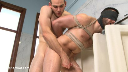 Photo number 14 from Top Cock: Loser's head shoved in the urinal & ass fucked to submission shot for nakedkombat on Kink.com. Featuring Abel Archer and Jonah Marx in hardcore BDSM & Fetish porn.