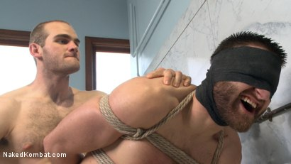 Photo number 12 from Top Cock: Loser's head shoved in the urinal & ass fucked to submission shot for Naked Kombat on Kink.com. Featuring Abel Archer and Jonah Marx in hardcore BDSM & Fetish porn.
