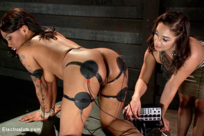 Photo number 18 from Electric Anal Latex Babes shot for Electro Sluts on Kink.com. Featuring Lea Lexis and Sasha Banks in hardcore BDSM & Fetish porn.