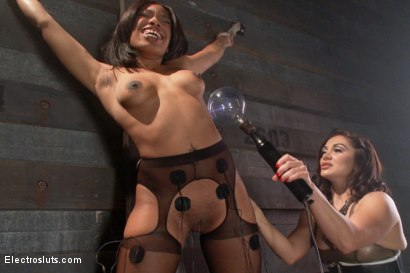 Photo number 19 from Electric Anal Latex Babes shot for Electro Sluts on Kink.com. Featuring Lea Lexis and Sasha Banks in hardcore BDSM & Fetish porn.
