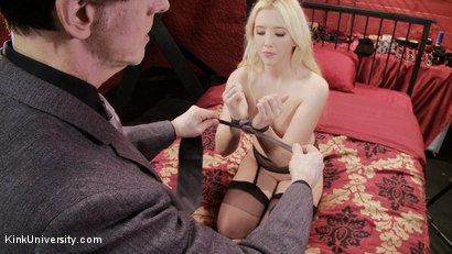 Photo number 3 from Easy, Sexy Bondage (Rope, Ties, Tape, & More) shot for Kink University on Kink.com. Featuring Samantha Rone in hardcore BDSM & Fetish porn.