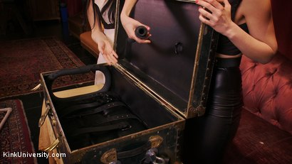Photo number 11 from Sensual Sensory Deprivation shot for Kink University on Kink.com. Featuring Siouxsie Q and Mona Wales in hardcore BDSM & Fetish porn.