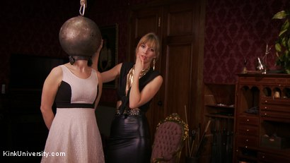 Photo number 7 from Sensual Sensory Deprivation shot for Kink University on Kink.com. Featuring Siouxsie Q and Mona Wales in hardcore BDSM & Fetish porn.